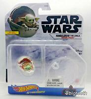 Hot Wheels Star Wars Starships Mandalorian THE CHILD GROGU Hover Pram READ AS IS