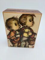 "Reuge Hummel Wooden Vintage Music Box Swiss Movement ""Love Story"""