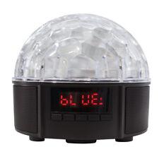 Discokugel Bluetooth Licht Party Musik Lautsprecher Box LED RGB Discolicht DJ