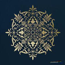 Mandala  #2 LARGE  Stencil Template:, Art,  Airbrushing: ST68L