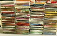 100 CD Wholesale Lot used Assorted CDs