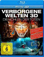 Verborgene Welten - Die Höhlen der Toten(3D Vers.) (Blu-ray) Christian Howe NEW