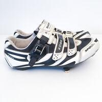 Shimano Road Bike Shoes Mens US 9.7 SH-R086W EUR 50 SPD-SL w Shimano Cleats SPD