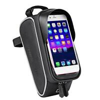 Wheel Up MTB Bicycle Front Bag Waterproof Bike Frame Saddle Phone Case Panniers