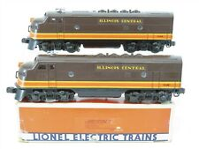 O Gauge Lionel 6-8580 IC Illinois Central F3 A/A Diesel Unit Set - Does Not Run