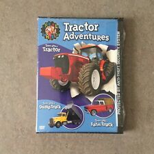 Real Wheels: Tractor Adventures DVD - NEW SEALED