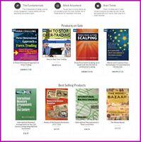 Website Designed E-Commerce FOREX Store Fully Stocked Dropship or Affiliate