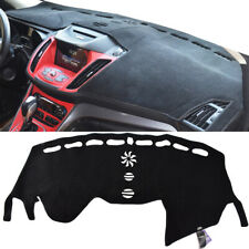 Xukey Fits Ford Escape Kuga 2013-2019 Dash Cover Mat / Black