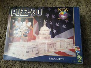 Puzz-3D The Capitol Building complete