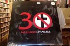 Bad Religion 30 Years Live LP sealed vinyl + download
