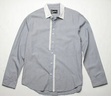 Hause of Howe Banks Go Bust Long Sleeve Shirt (M) Raven's Blue N6W09C0