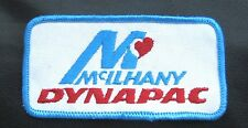 McILHANY DYNAPAC EMBROIDERED SEW ON PATCH Stockholm, Sweden