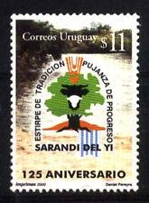 URUGUAY 2000 ANIV SARANDI DEL YI TOWN YV 1936 Mi 2579 MNH