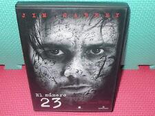 EL NUMERO 23 - JIM CARREY - DESCATALOGADA