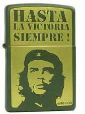 Zippo Che Guevara Olivgrün Messing  Feuerzeug Neu 60000354 Motiv 2