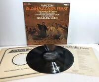 WALTON Belshazzar's Feast LP Sir Georg Solti London Philharmonic Choir OS26525