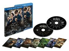 New Fantastic Beasts and Where to Find Them 3D 2D Blu-ray Card Set Japan
