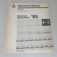 Workshop Manual Mitsubishi Galant E 50 Supplement Body Year 1995