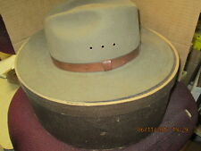 Vintage Outback Hat Wpl 4384 100% Wool, Brown, Made in Usa Size Large