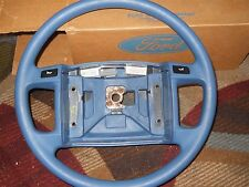 NOS 1990 1991 1992 1993 FORD MUSTANG FACTORY BLUE VINYL STEERING WHEEL F3ZZ-3600