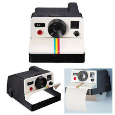 Vintage Camera Toilet Paper Tissue Roll Holder Box Covers Bathroom Home Decor SP