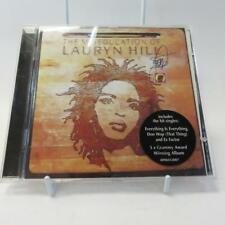 More details for cd, the miseducation of lauryn hill with autograph, hand signed on cd and insert