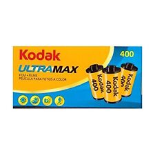 Kodak 6034052 Ultramax 400 135/24 Film Pack of 3