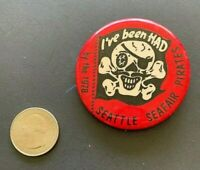 Seattle Seafair Pirates (1978) Vintage Pinback Button