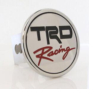 Toyota TRD Racing Hitch Cover Plug (Chrome)
