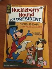 Huckleberry Hound #35 VF/NM High Grade Copy Gold key Comic 1969 Pics in descr