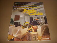 Family Circle Magazine, January 1972, Antique Furniture Dictionary, Mike Wallace
