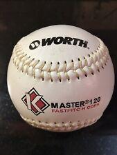 Worth K Master 120 Fastpitch cork softball