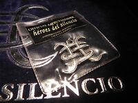 COLGANTE  HEROES DEL SILENCIO RELIEVE /COLOR PLATA  - MERCHANDISE AVALANCHA-1995