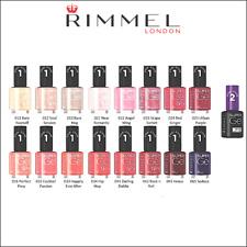 RIMMEL LONDON - vernis à ongles SUPER GEL KATE MOSS 12 ml - Nail polish