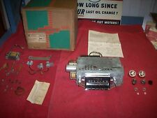 1957 Chevy Belair Nomad NOS GM Accessory Custom Deluxe Radio Kit in Box 987575
