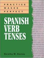 Practice Makes Perfect: Spanish Verb Tenses, Dorothy Richmond, Good Book