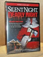 Silent Night, Deadly Night (DVD, 2009, 3-Disc Set) NEW christmas scary horror