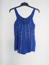 Ladakh Ladies Top Singlet Blue Size 6 Like New