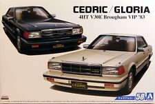 Aoshima 1/24 Nissan Cedric / Gloria 4HT 280E Brougham VIP 1983 PLASTIC KIT 5478