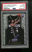 2018 Panini Threads DAZZLE #184 Marvin Bagley III Kings Rookie Card RC PSA 10