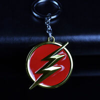 DC Comics Superhero The Flash Logo Alloy Key Chains Keychain Keyfob Keyring Gift