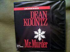 Mr. Murder by Dean Koontz (2005, CD, Unabridged) HTF