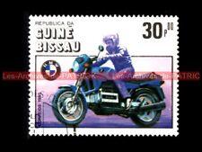 BMW K100 1983 K 100 - Guiné BISSAU 1985 - Guinée BISSAO : Timbre Poste Moto
