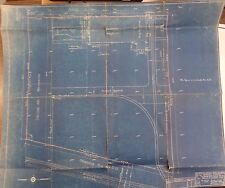 1930 Construction Blueprints Proposed Storage Building Michigan 122216DBE4