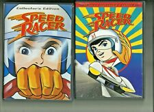 Speed Racer Vol 1 and Vol 2 Collectors editions DVD
