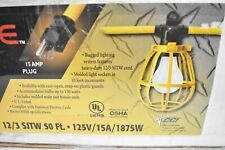 Coleman Cable CORD-O-LIGHT 075488802 String Light Cord Lamp Guards and Cage