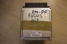 FORD FOCUS MK1 1.8 TDCi DELPHI ECU COMPUTER BRAIN PCM 2M5A-12A650-PD 2001 - 2005