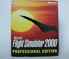Microsoft Flight Simulator 2000 Professional Edition PC Game