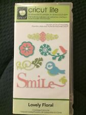 Cricut Cartridge LOVELY FLORAL cartridge, overlay, booklet