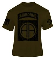 82nd Airborne Division T-shirt I Patriot I Paratrooper I Veteran I All American